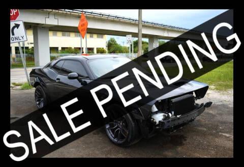 2020 Dodge Challenger for sale at ELITE MOTOR CARS OF MIAMI in Miami FL