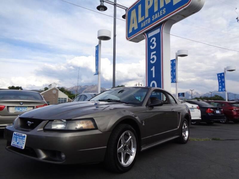 2001 Ford Mustang SVT Cobra for sale at Alpine Auto Sales in Salt Lake City UT