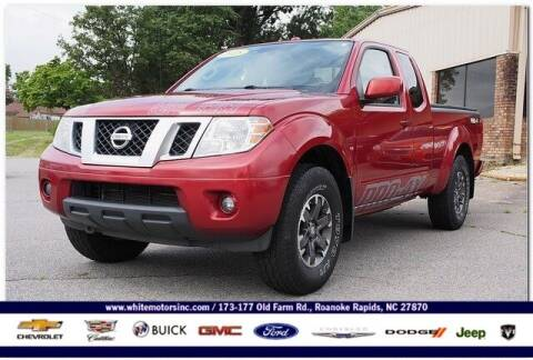 2015 Nissan Frontier for sale at WHITE MOTORS INC in Roanoke Rapids NC