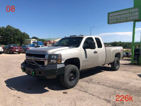 2008 Chevrolet Silverado 2500HD for sale at Independent Auto in Belle Fourche SD