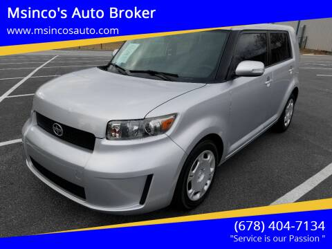 2009 Scion xB for sale at Msinco's Auto Broker in Snellville GA