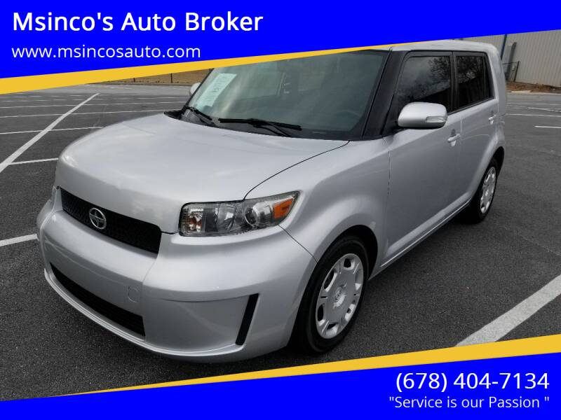 2009 Scion xB for sale at Msinco's Auto Broker in Snellville GA