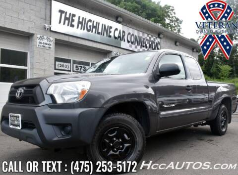 2013 Toyota Tacoma for sale at The Highline Car Connection in Waterbury CT