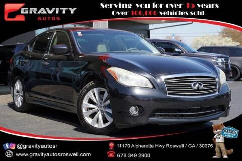 2011 Infiniti M37 for sale at Gravity Autos Roswell in Roswell GA