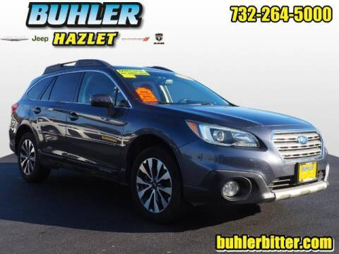 2016 Subaru Outback for sale at Buhler and Bitter Chrysler Jeep in Hazlet NJ