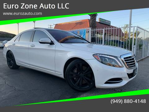 2014 Mercedes-Benz S-Class for sale at Euro Zone Auto in Stanton CA