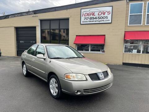 2006 Nissan Sentra for sale at I-Deal Cars LLC in York PA