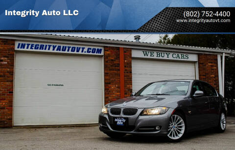 2010 BMW 3 Series for sale at Integrity Auto LLC - Integrity Auto 2.0 in St. Albans VT