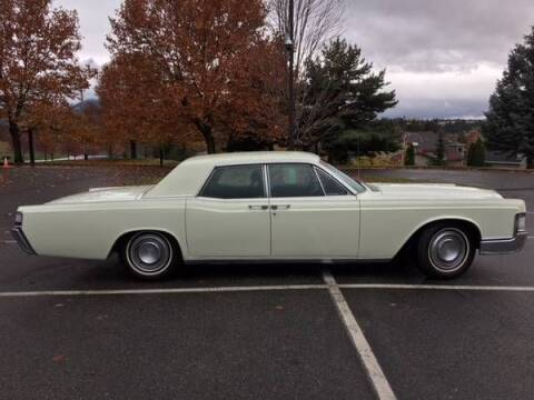1969 Lincoln Continental for sale at Classic Car Deals in Cadillac MI