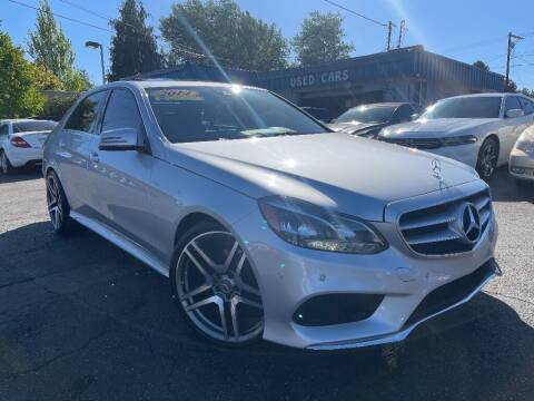 2014 Mercedes-Benz E-Class for sale at Real Deal Cars in Everett WA