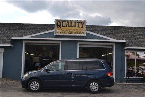 2009 Honda Odyssey for sale at Quality Pre-Owned Automotive in Cuba MO