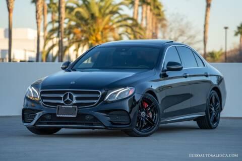 2018 Mercedes-Benz E-Class for sale at Euro Auto Sales in Santa Clara CA
