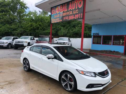 2015 Honda Civic for sale at Global Auto Sales and Service in Nashville TN