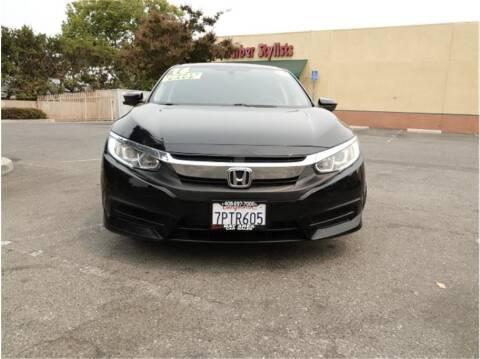 2016 Honda Civic for sale at BAY AREA CAR SALES in San Jose CA