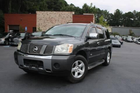 2006 Nissan Armada for sale at Atlanta Unique Auto Sales in Norcross GA