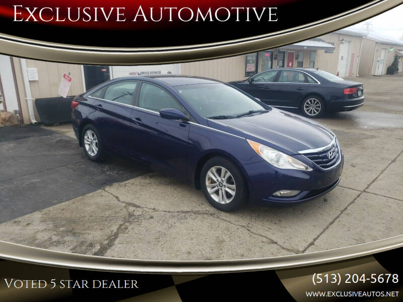 2013 Hyundai Sonata for sale at Exclusive Automotive in West Chester OH