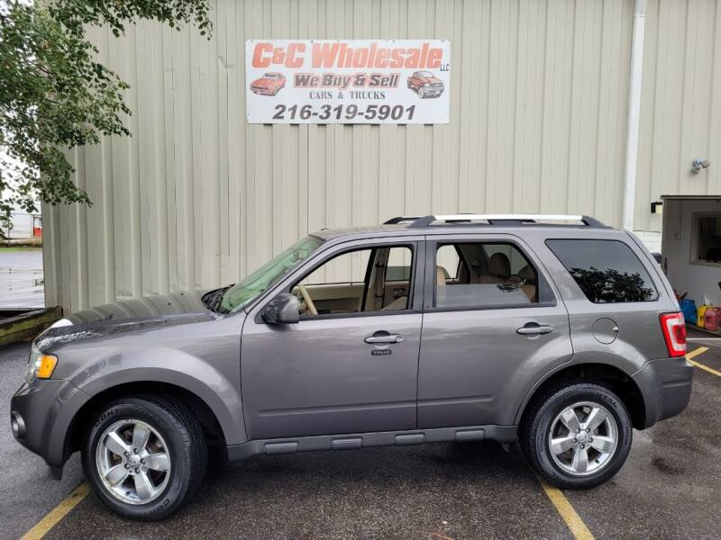 2012 Ford Escape for sale at C & C Wholesale in Cleveland OH