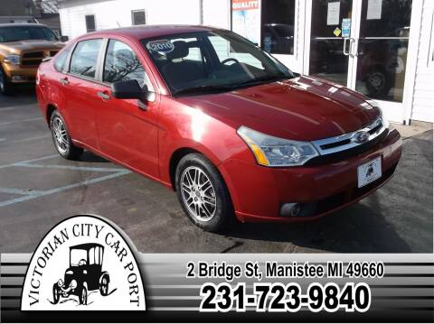 2010 Ford Focus for sale at Victorian City Car Port INC in Manistee MI
