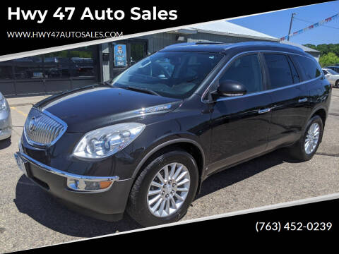 2010 Buick Enclave for sale at Hwy 47 Auto Sales in Saint Francis MN