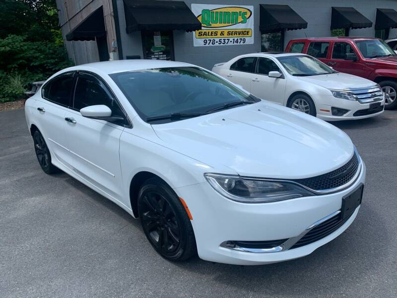 2015 Chrysler 200 for sale at QUINN'S AUTOMOTIVE in Leominster MA