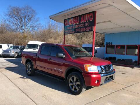 2015 Nissan Titan for sale at Global Auto Sales and Service in Nashville TN