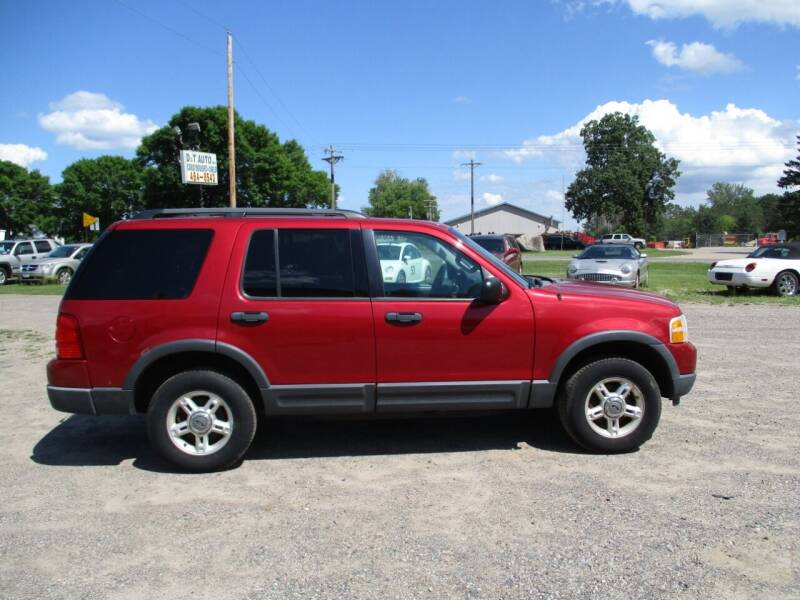 2003 Ford Explorer for sale at D & T AUTO INC in Columbus MN