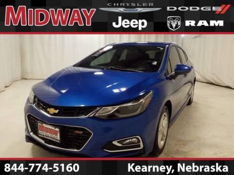 2018 Chevrolet Cruze for sale at MIDWAY CHRYSLER DODGE JEEP RAM in Kearney NE