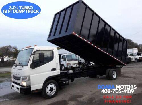2013 Mitsubishi Fuso FEC72S for sale at DOABA Motors - Dump Truck in San Jose CA