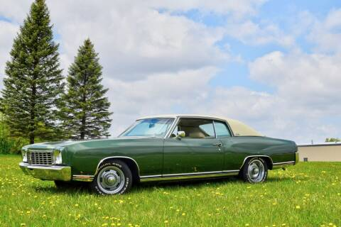 1972 Chevrolet Monte Carlo for sale at Hooked On Classics in Watertown MN