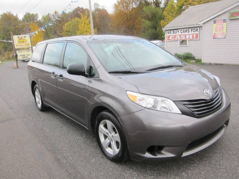 2017 Toyota Sienna for sale at K & R Auto Sales,Inc in Quakertown PA