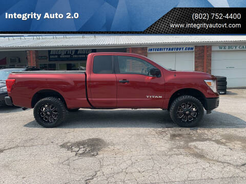 2018 Nissan Titan for sale at Integrity Auto 2.0 in Saint Albans VT