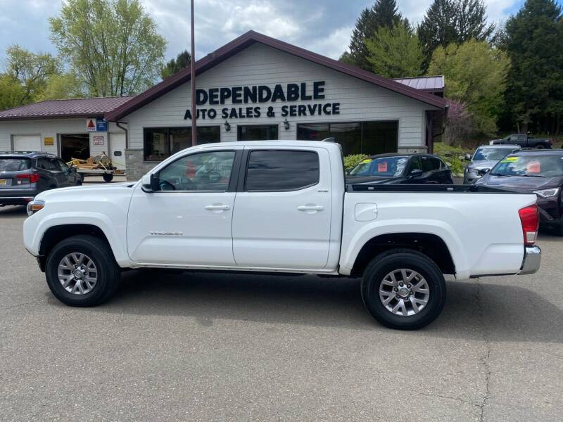 2017 Toyota Tacoma for sale at Dependable Auto Sales and Service in Binghamton NY