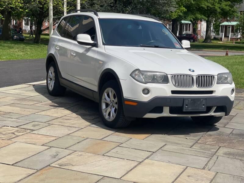 2010 BMW X3 for sale at Glacier Auto Sales in Wilmington DE