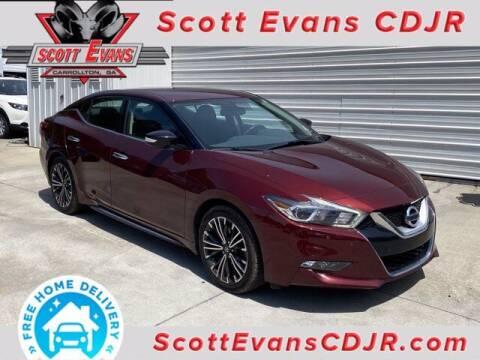 2017 Nissan Maxima for sale at SCOTT EVANS CHRYSLER DODGE in Carrollton GA