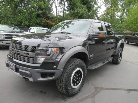 2014 Ford F-150 for sale at LULAY'S CAR CONNECTION in Salem OR