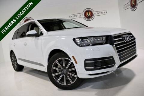 2017 Audi Q7 for sale at Unlimited Motors in Fishers IN