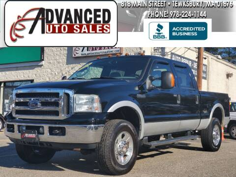 2005 Ford F-350 Super Duty for sale at Advanced Auto Sales in Tewksbury MA