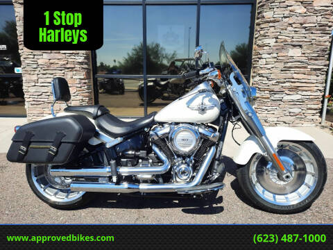 2018 Harley-Davidson Softail Fat Boy FLFB for sale at 1 Stop Harleys in Peoria AZ