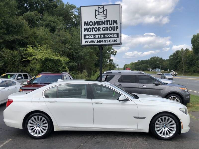 2009 BMW 7 Series for sale at Momentum Motor Group in Lancaster SC