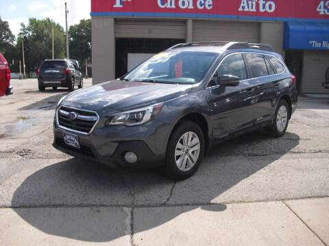 2018 Subaru Outback for sale at 1st Choice Auto Inc in Green Bay WI
