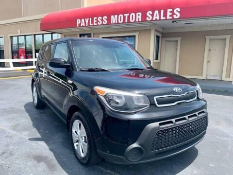 2014 Kia Soul for sale at Payless Motor Sales LLC in Burlington NC