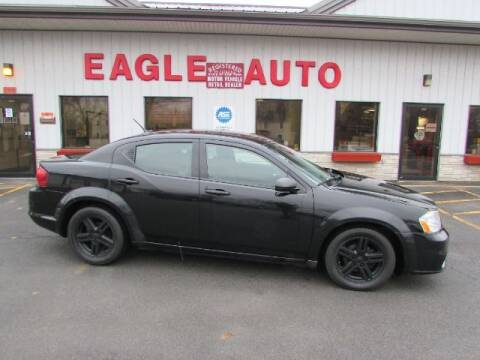 2014 Dodge Avenger for sale at Eagle Auto Center in Seneca Falls NY