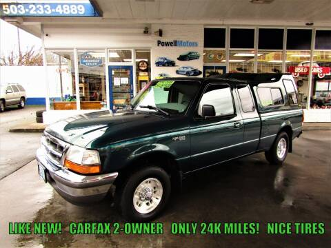 1998 Ford Ranger for sale at Powell Motors Inc in Portland OR
