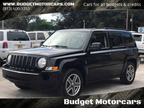 2008 Jeep Patriot for sale at Budget Motorcars in Tampa FL