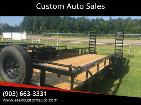 2021 Top Hat 20x83 Heavy Duty 14K for sale at Custom Auto Sales - TRAILERS in Longview TX