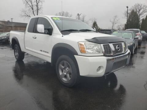 2005 Nissan Titan for sale at Newcombs Auto Sales in Auburn Hills MI