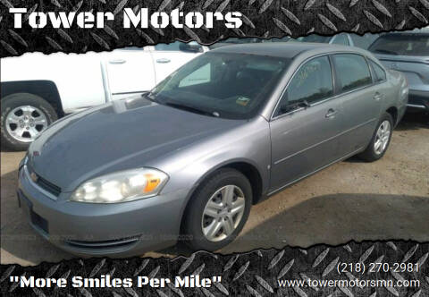 2006 Chevrolet Impala for sale at Tower Motors in Brainerd MN