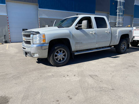 2010 Chevrolet Silverado 2500HD for sale at Truck Buyers in Magrath AB