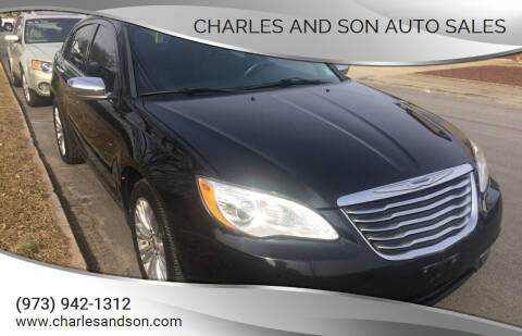 2012 Chrysler 200 for sale at Charles and Son Auto Sales in Totowa NJ