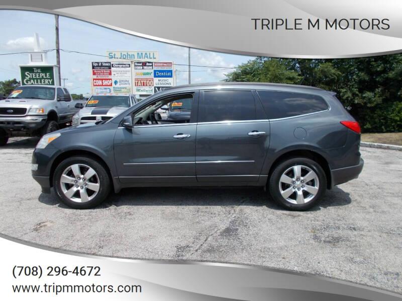 2011 Chevrolet Traverse for sale at Triple M Motors in Saint John IN